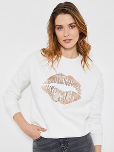 mint-velvet-sequin-lips-sweatshirt-cream