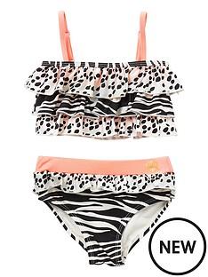 river-island-mini-mini-girls-animal-print-bikini--beige