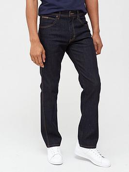 wrangler-arizona-regular-straight-fit-jeans-rinse-washnbsp