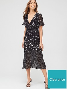oasis-lucy-mixed-spot-chiffon-midi-dress-monochromenbsp