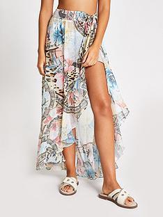 river-island-printed-beach-maxi-skirt