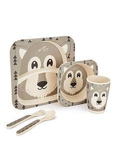 wolf-bamboo-fibre-5-piece-dinner-set