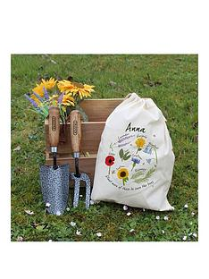personalised-save-the-bees-gardening-tool-set