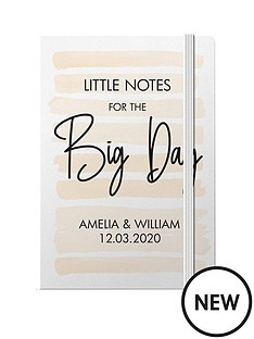 personalised-little-notes-for-the-big-day-a5-hardback-notebook