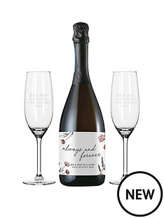 personalised-always-forever-prosecco-set-in-silk-lined-box