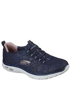 skechers-empire-dlux-charming-grace-trainers-navymulti
