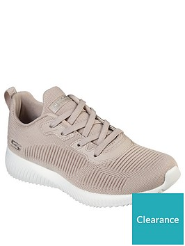 skechers-bobs-squad-tough-talk-trainers-nude