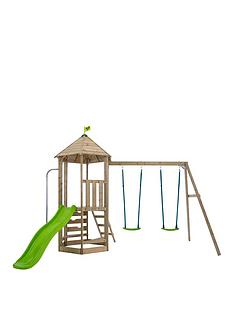 tp-castlewood-tower-with-double-swing-arm-slide
