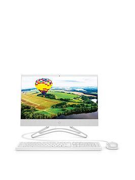 hp-22-c0054na-intel-pentium-j5005nbsp4gb-ramnbsp1tb-hard-drive-215-inch-full-hd-allnbspinnbspone-desktop-with-optional-microsoft-office-365-home-1-year--white