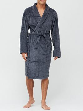 very-man-supersoft-two-tone-dressing-gown-with-hood-greyblacknbsp