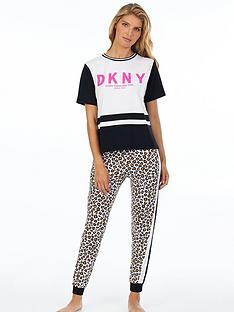 dkny-colourblock-logo-short-sleeve-top-white