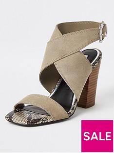 river-island-suede-cross-strap-sandals-grey
