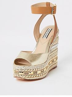 river-island-embellished-wedge-sandals-gold