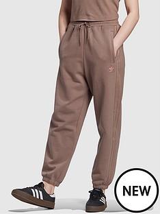 adidas-originals-new-neutral-cuffed-joggers-brownnbsp