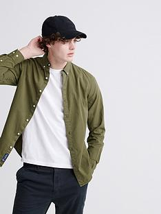 superdry-classic-twill-lite-long-sleeved-shirt-khaki
