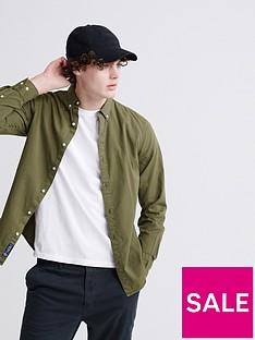 superdry-classic-twill-lite-long-sleeved-shirt-khaki