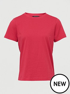 v-by-very-the-basic-crew-neck-tee-dark-pink