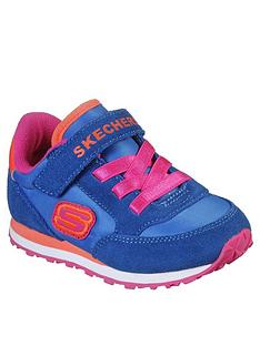 skechers-toddler-girls-strap-trainers-blue
