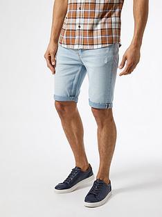 burton-menswear-london-skinny-rip-shorts-light-bluenbsp