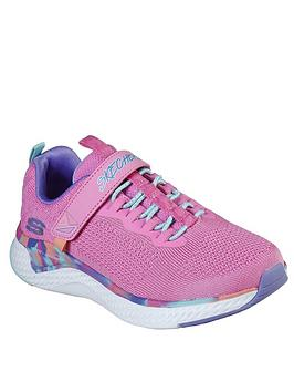 skechers-girls-solar-fuse-trainers-pink
