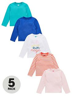 v-by-very-girls-5-pack-long-sleeve-printed-magic-tops-multi