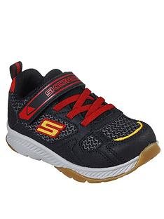 skechers-boys-comfy-grip-trainers-blackred
