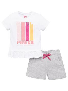 v-by-very-girls-girl-power-peplum-tee-and-shorts-set-multi