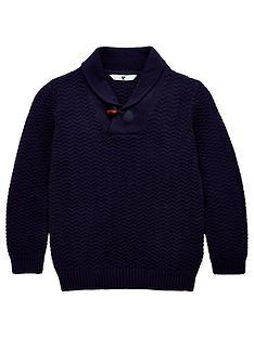 v-by-very-boys-shawl-neck-jumper-navy