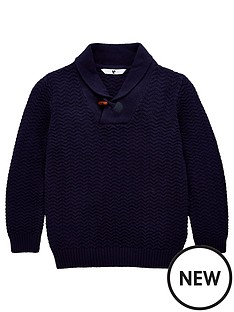 v-by-very-boys-shawl-neck-jumper-navy