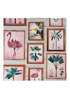 fresco-tropical-frames-wallpaper