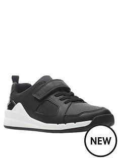 clarks-boysnbsporbit-ride-leather-trainer-black