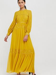 monsoon-florence-embroidered-long-sleeve-dress-yellow