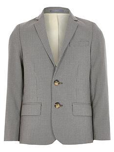 river-island-boys-check-suit-blazernbsp--grey