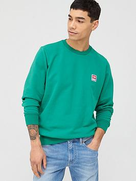 diesel-gir-small-chest-logo-sweatshirt-green