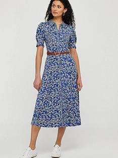 monsoon-darella-ditsy-print-jersey-shirt-dress-blue