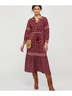 monsoon-heshna-print-midi-dress-berry