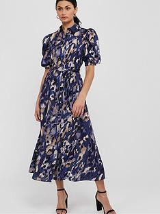 monsoon-libby-animal-print-shirt-dress-blue