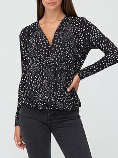 v-by-very-long-sleevenbspwrap-top-polka-dot