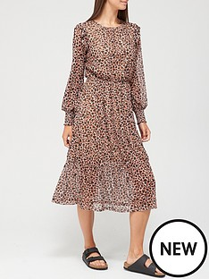 v-by-very-mesh-tiered-midi-dress-heart-leopard-print