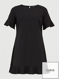 v-by-very-curve-jersey-crepe-shift-dress-black