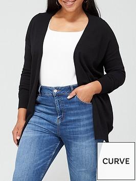 v-by-very-curve-valuenbspedge-to-edge-cardigan-black