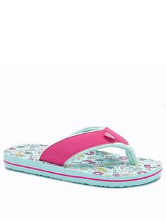 animal-girls-swish-flip-flop-green
