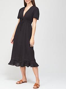 v-by-very-beach-crinkle-midi-dress-black