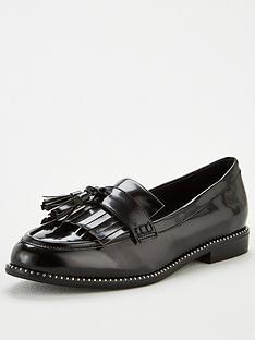 v-by-very-meadow-tassel-loafers-black