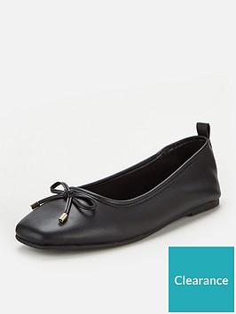 v-by-very-marlow-square-toe-ballerina-black
