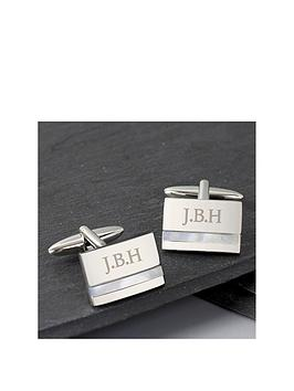 personalised-mother-of-pearl-cufflinks