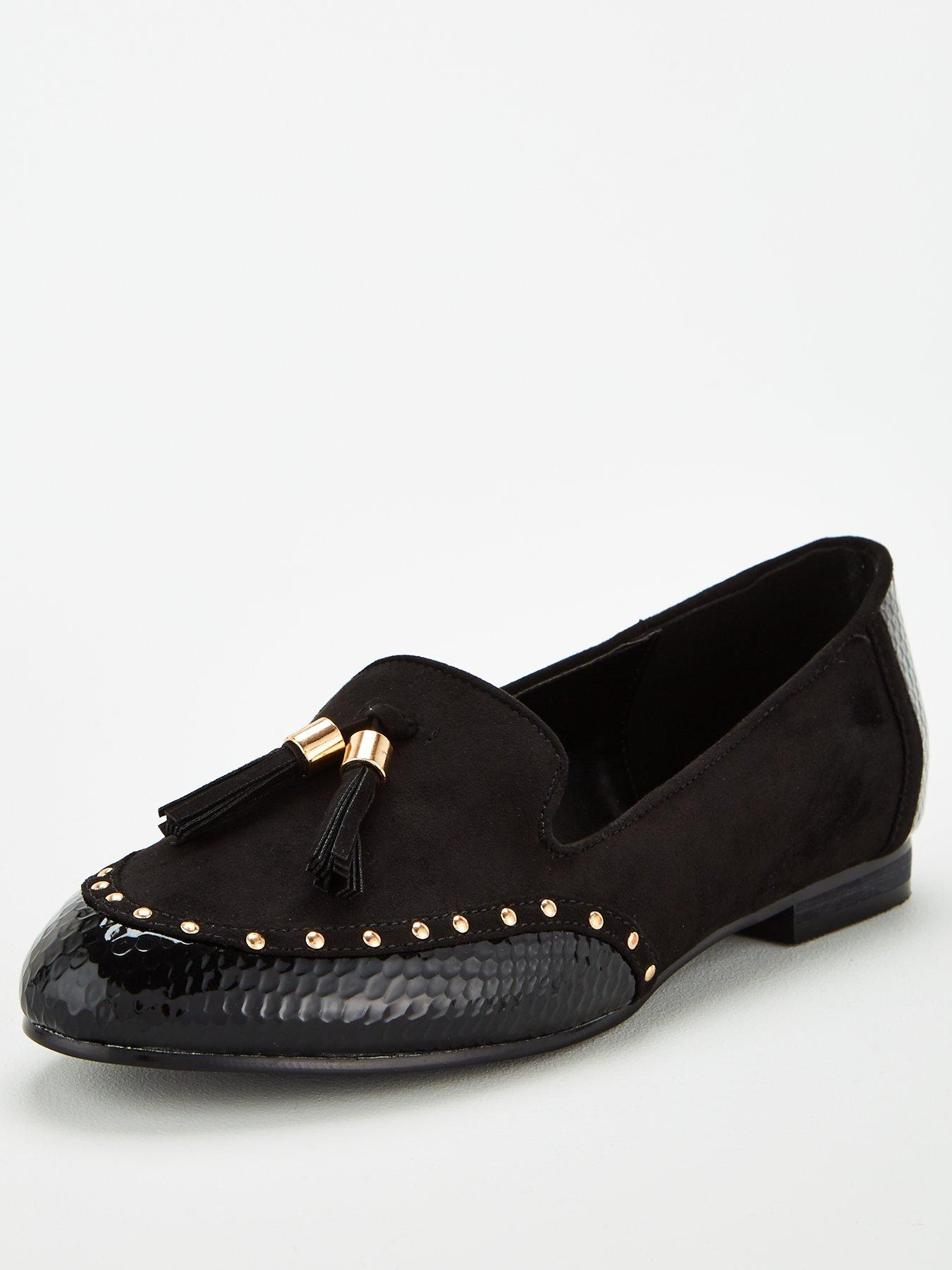 Wide Fit Flat Shoes | Women