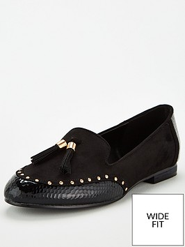 v-by-very-wide-fit-maplewood-tassel-loafers-black
