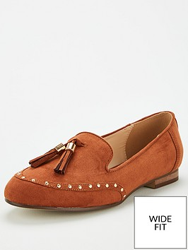 v-by-very-wide-fit-maplewood-tassel-loafers-tan