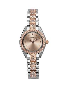 accurist-accurist-rose-gold-crystal-set-dial-two-tone-crystal-embelished-stainless-steel-bracelet-ladies-watch